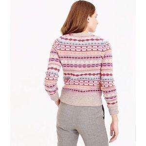 J. Crew Sweaters - J. Crew 100% wool fair isle sweater